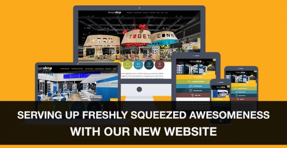 DesignShop is Serving up Freshly Squeezed Awesomeness with its New Website