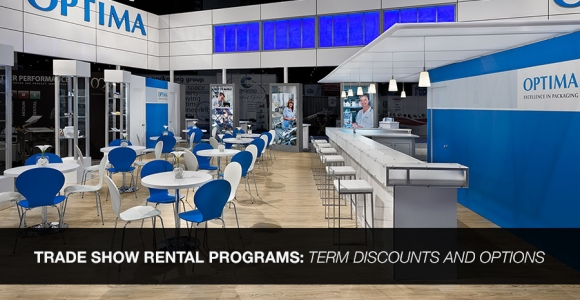 Trade Show Rental Programs - Term Discounts and Options to Purchase