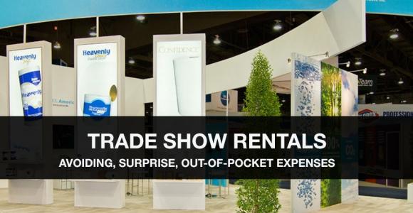 trade show rental expenses