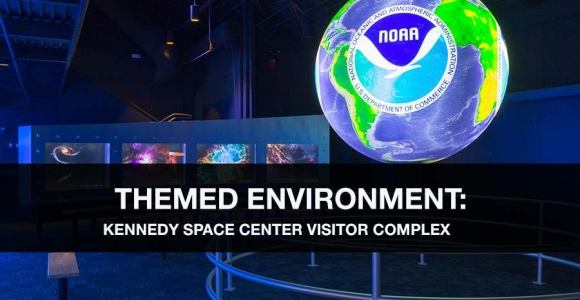 Themed Environment for the Kennedy Space Center Visitor Complex