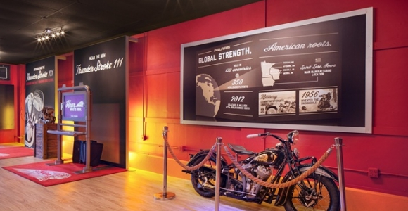 Retail Interior for Indian Motorcyles