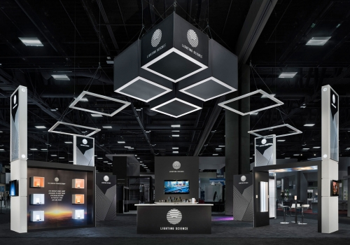 DesignShop Trade Show Exhibits - Lighting Science